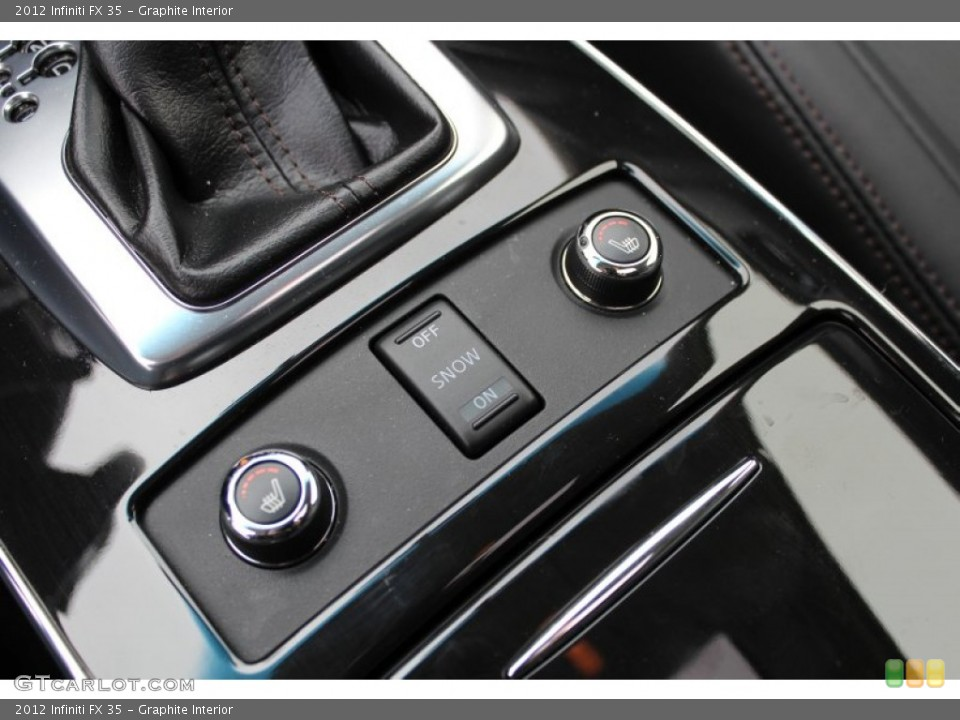 Graphite Interior Controls for the 2012 Infiniti FX 35 #77601195