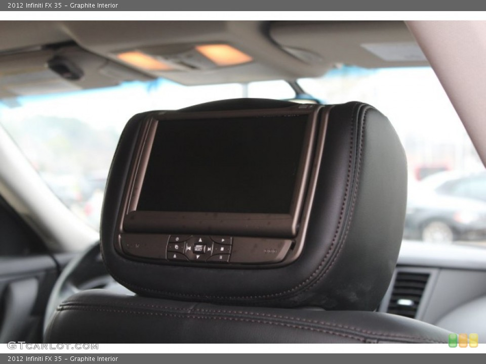 Graphite Interior Entertainment System for the 2012 Infiniti FX 35 #77601225