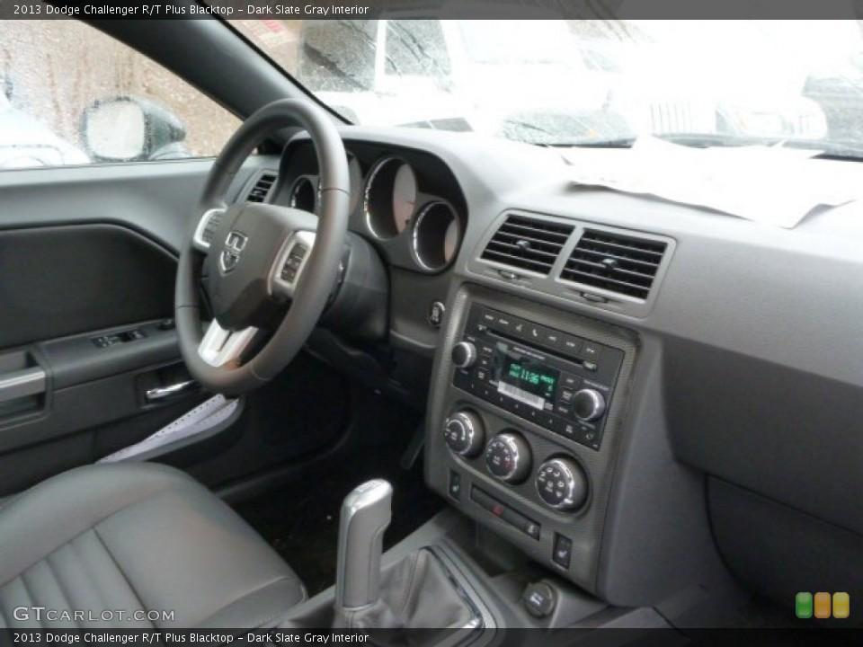 Dark Slate Gray Interior Dashboard for the 2013 Dodge Challenger R/T Plus Blacktop #77623187