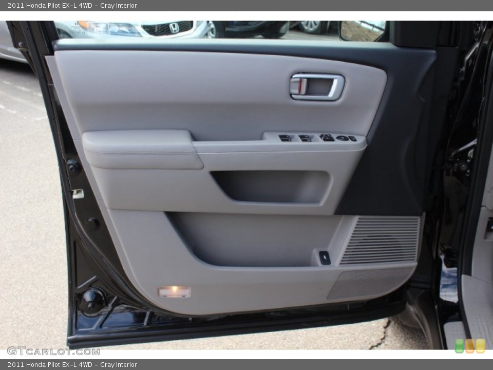 Gray Interior Door Panel for the 2011 Honda Pilot EX-L 4WD #77665719