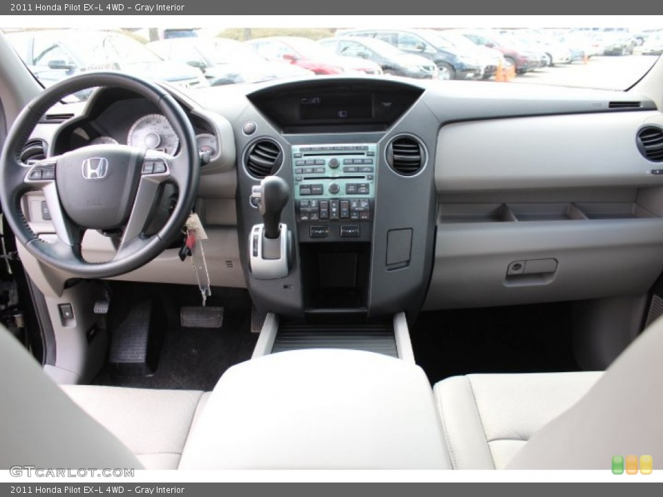 Gray Interior Dashboard for the 2011 Honda Pilot EX-L 4WD #77665773