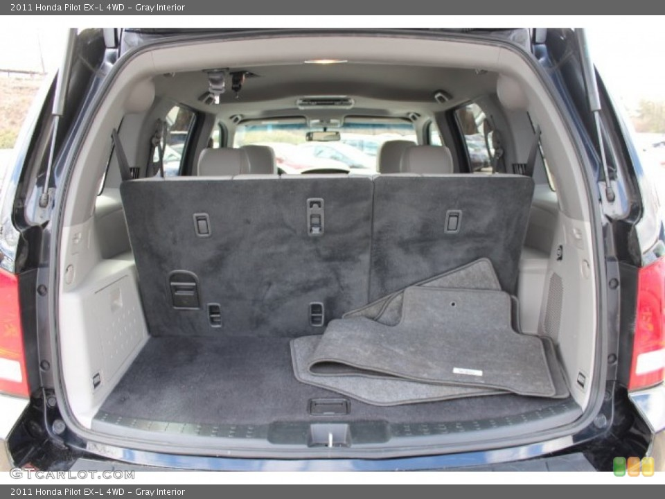 Gray Interior Trunk for the 2011 Honda Pilot EX-L 4WD #77665847