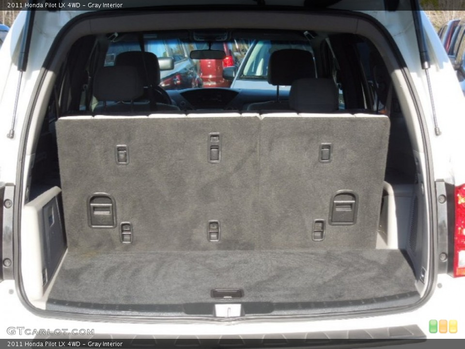 Gray Interior Trunk for the 2011 Honda Pilot LX 4WD #77729084