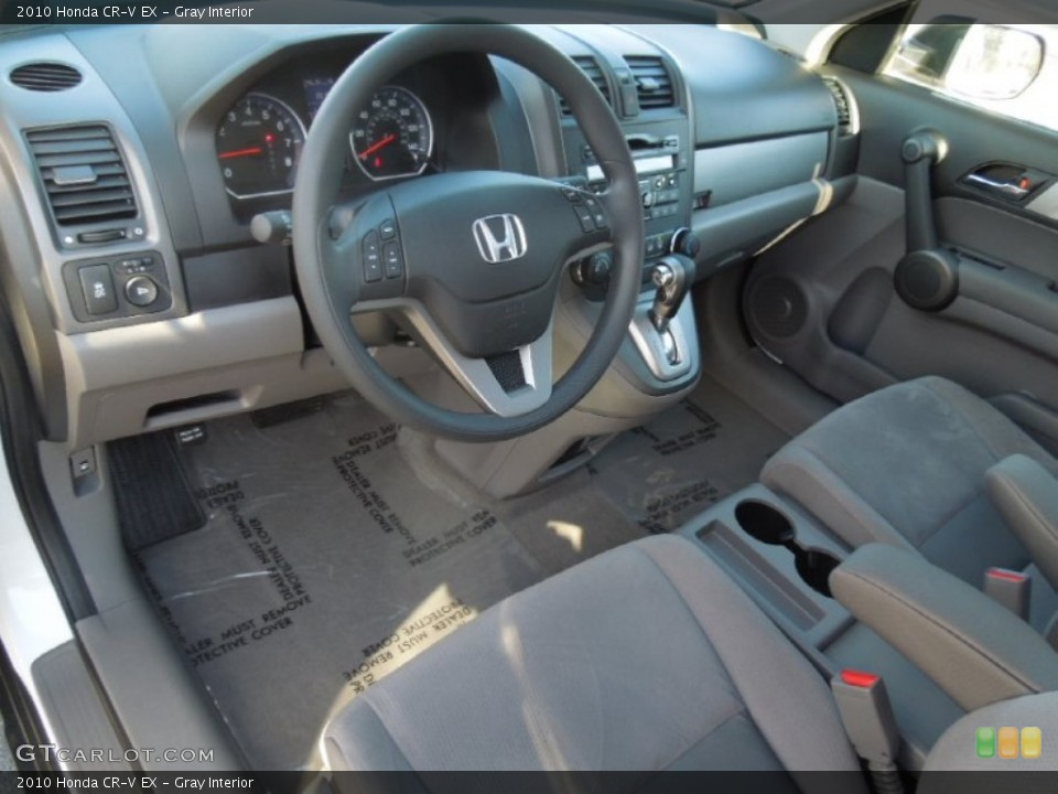 Gray Interior Prime Interior for the 2010 Honda CR-V EX #77760390