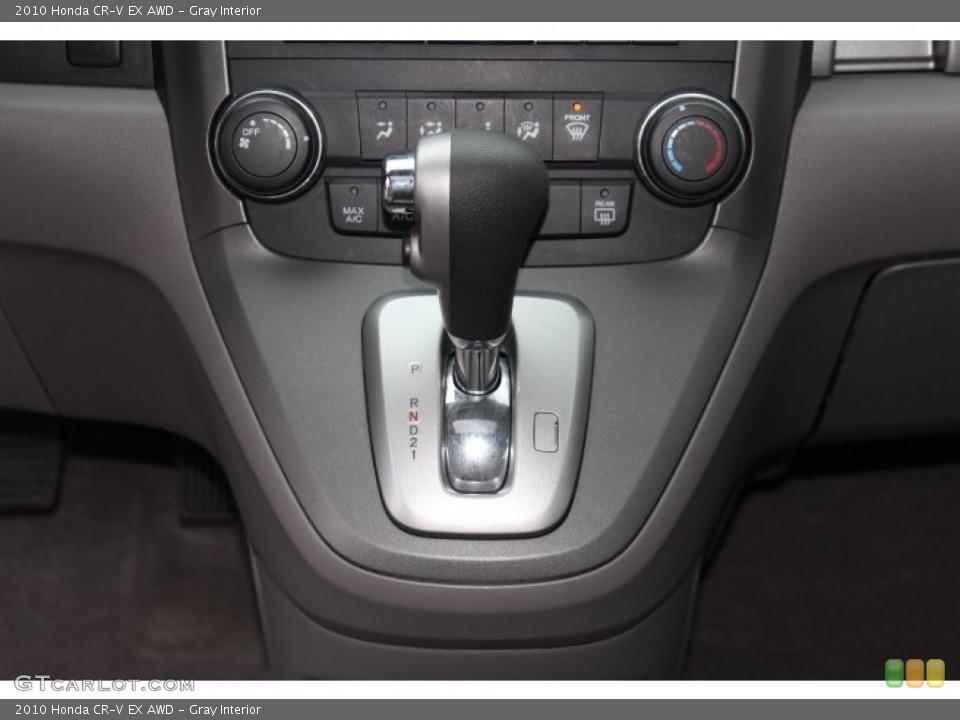 Gray Interior Transmission for the 2010 Honda CR-V EX AWD #77772689