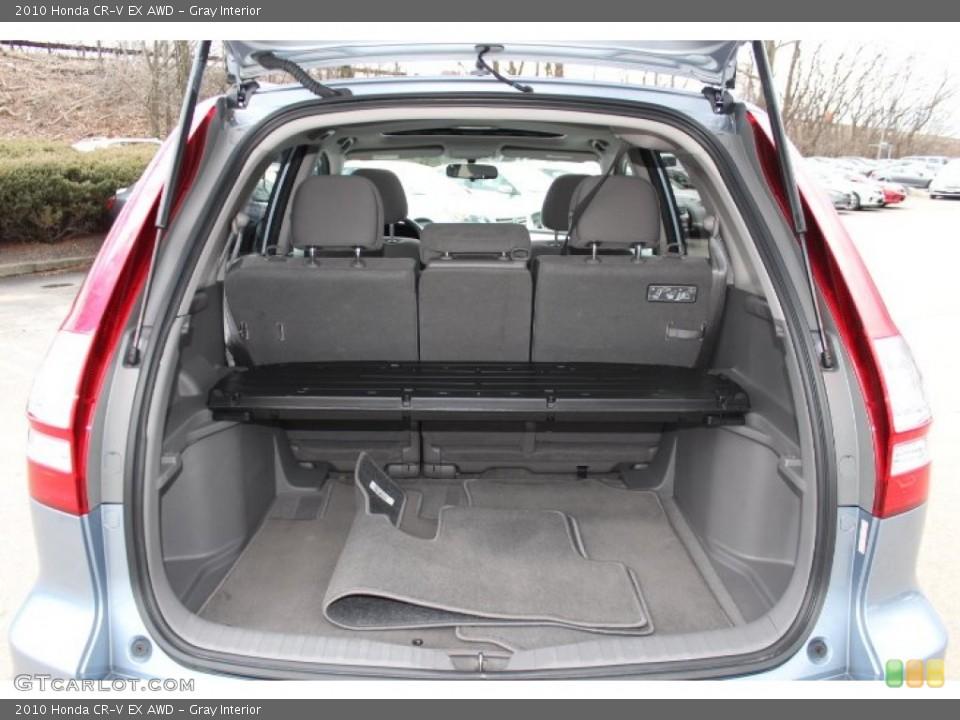 Gray Interior Trunk for the 2010 Honda CR-V EX AWD #77772762