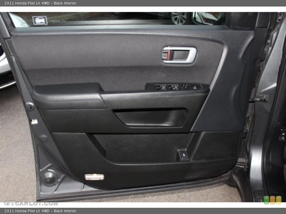 Black Interior Door Panel for the 2011 Honda Pilot LX 4WD #77781041