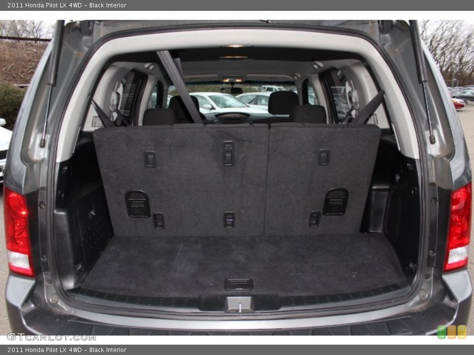 Black Interior Trunk for the 2011 Honda Pilot LX 4WD #77781177
