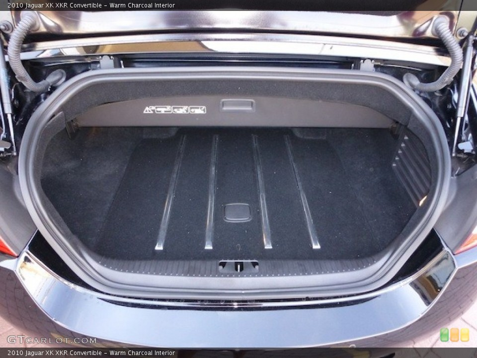 Warm Charcoal Interior Trunk for the 2010 Jaguar XK XKR Convertible #77860088