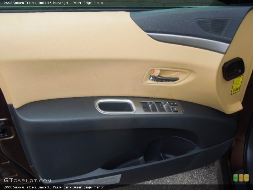 Desert Beige Interior Door Panel for the 2008 Subaru Tribeca Limited 5 Passenger #77923315