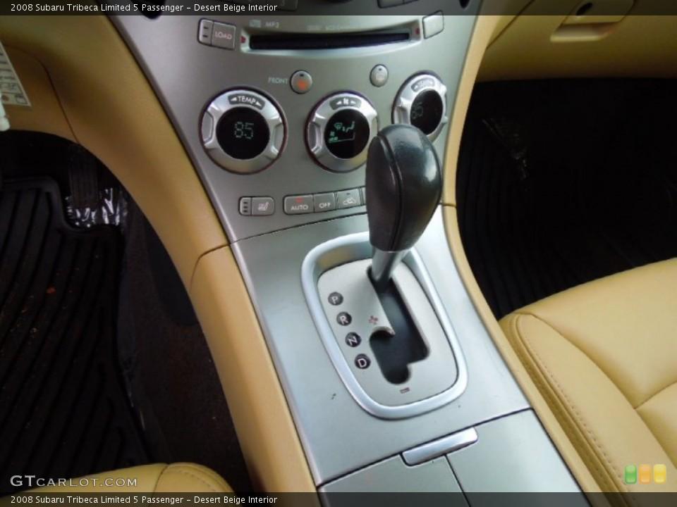 Desert Beige Interior Transmission for the 2008 Subaru Tribeca Limited 5 Passenger #77923321