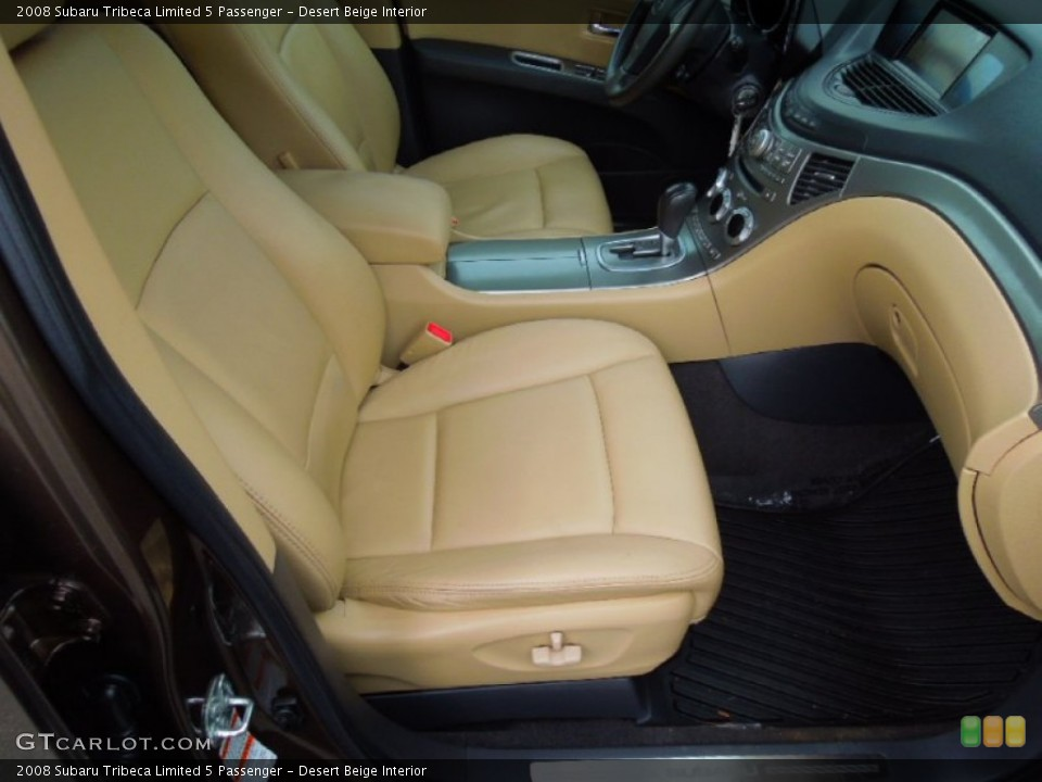 Desert Beige Interior Front Seat for the 2008 Subaru Tribeca Limited 5 Passenger #77923397