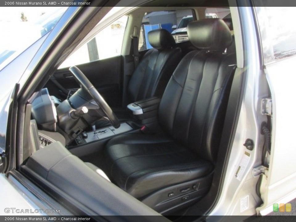Charcoal 2006 Nissan Murano Interiors