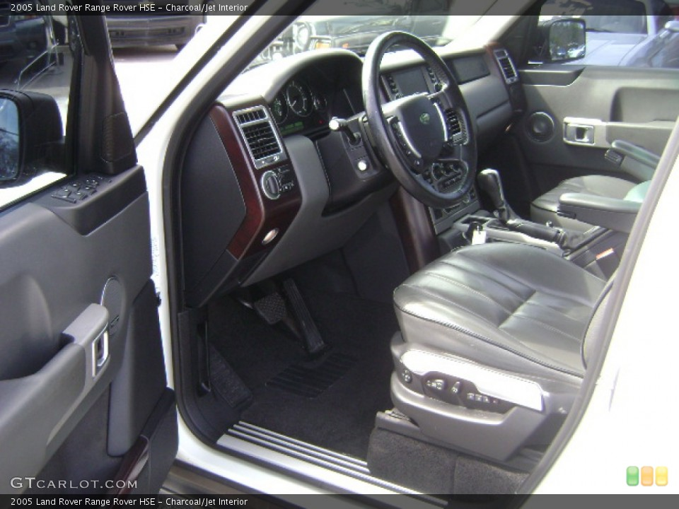 Charcoal/Jet 2005 Land Rover Range Rover Interiors
