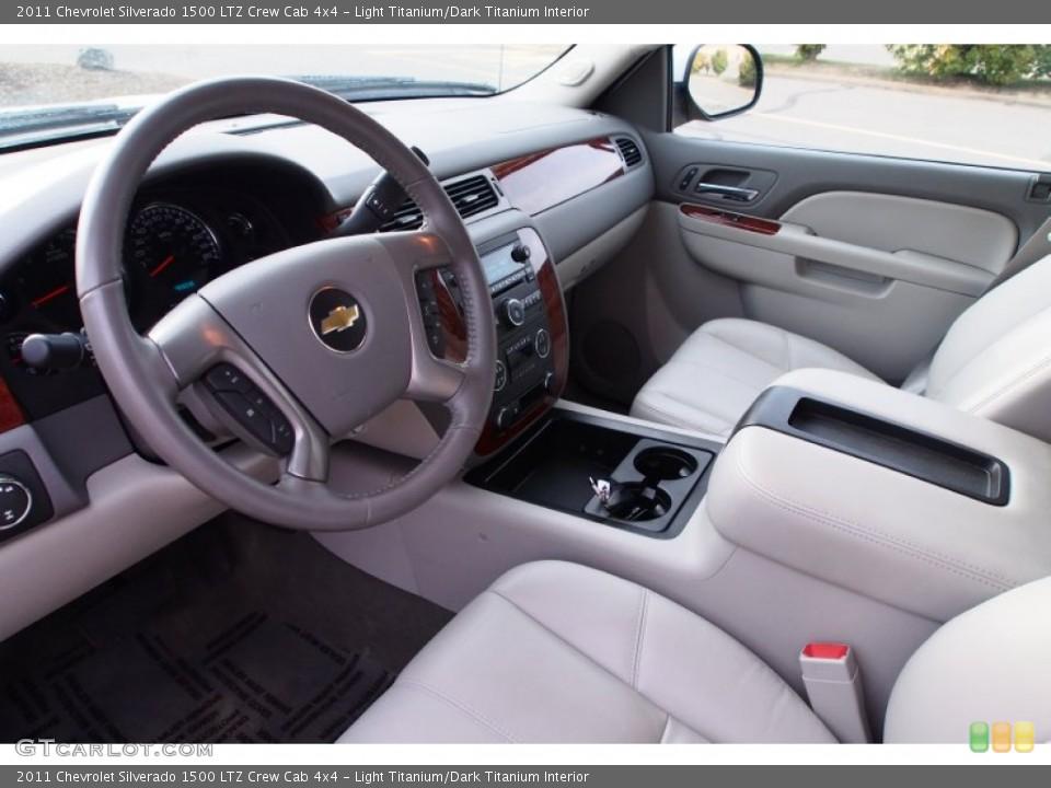 Light Titanium/Dark Titanium 2011 Chevrolet Silverado 1500 Interiors