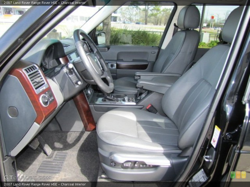 Charcoal 2007 Land Rover Range Rover Interiors