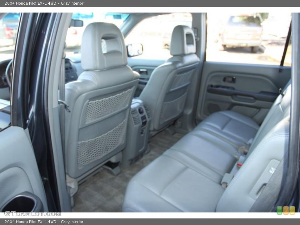 Gray Interior Rear Seat for the 2004 Honda Pilot EX-L 4WD #78217544