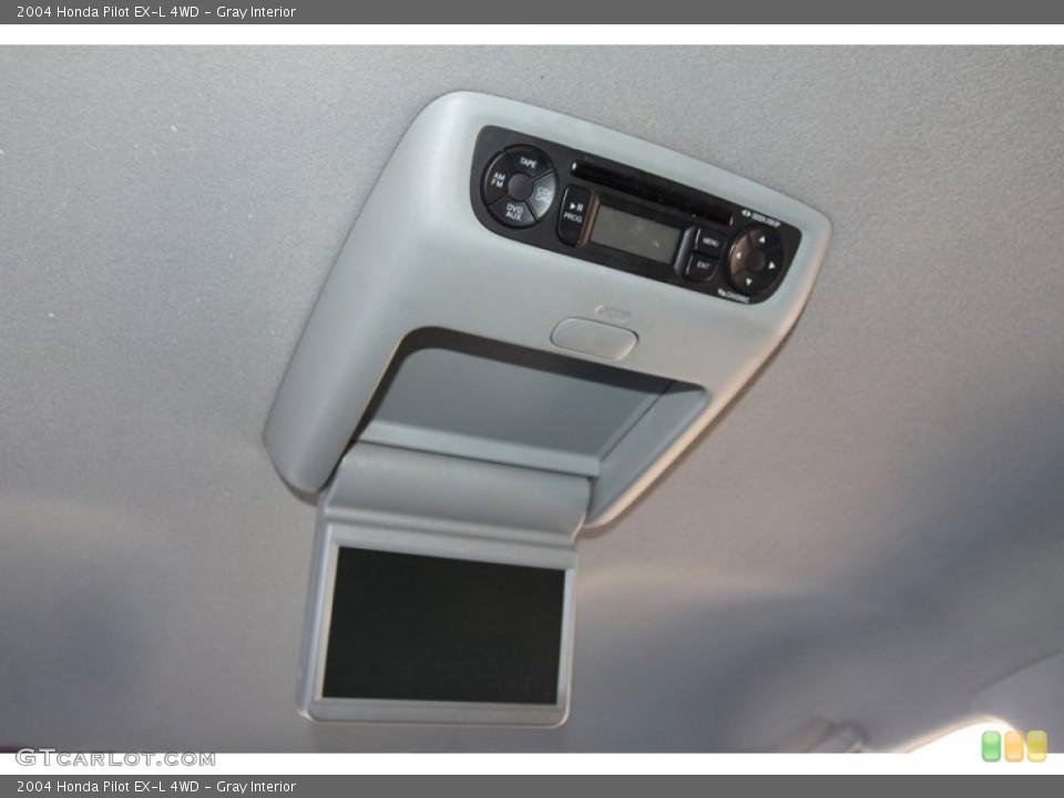 Gray Interior Entertainment System for the 2004 Honda Pilot EX-L 4WD #78217633