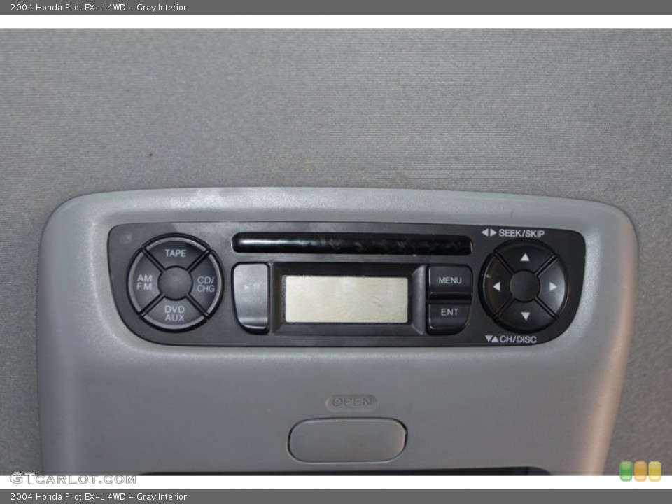 Gray Interior Entertainment System for the 2004 Honda Pilot EX-L 4WD #78217658