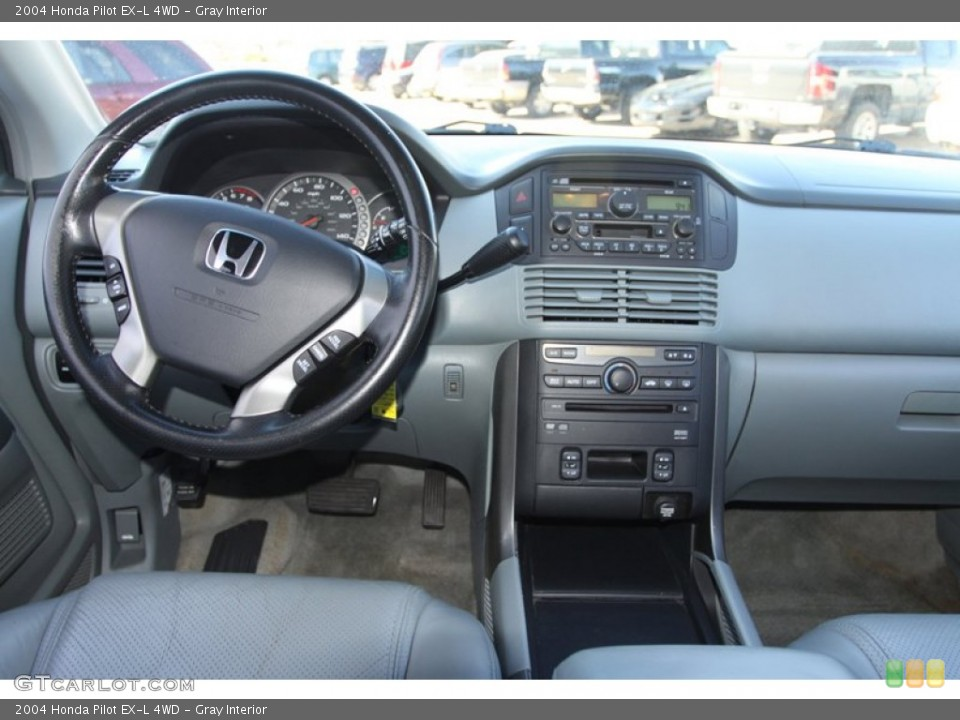 Gray Interior Dashboard for the 2004 Honda Pilot EX-L 4WD #78217685