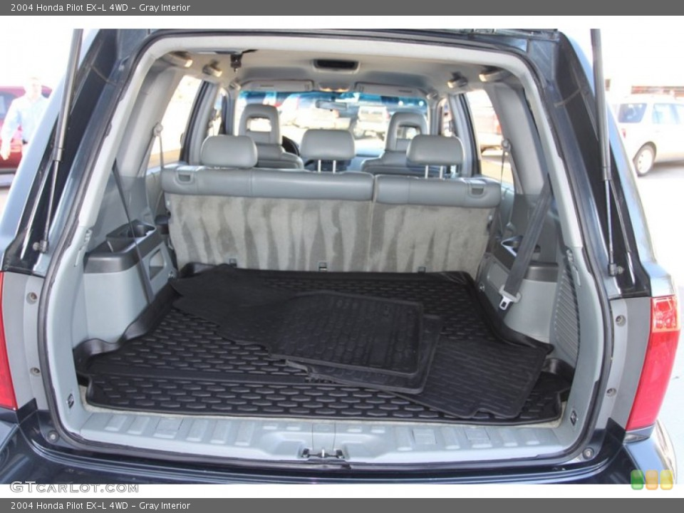 Gray Interior Trunk for the 2004 Honda Pilot EX-L 4WD #78217726