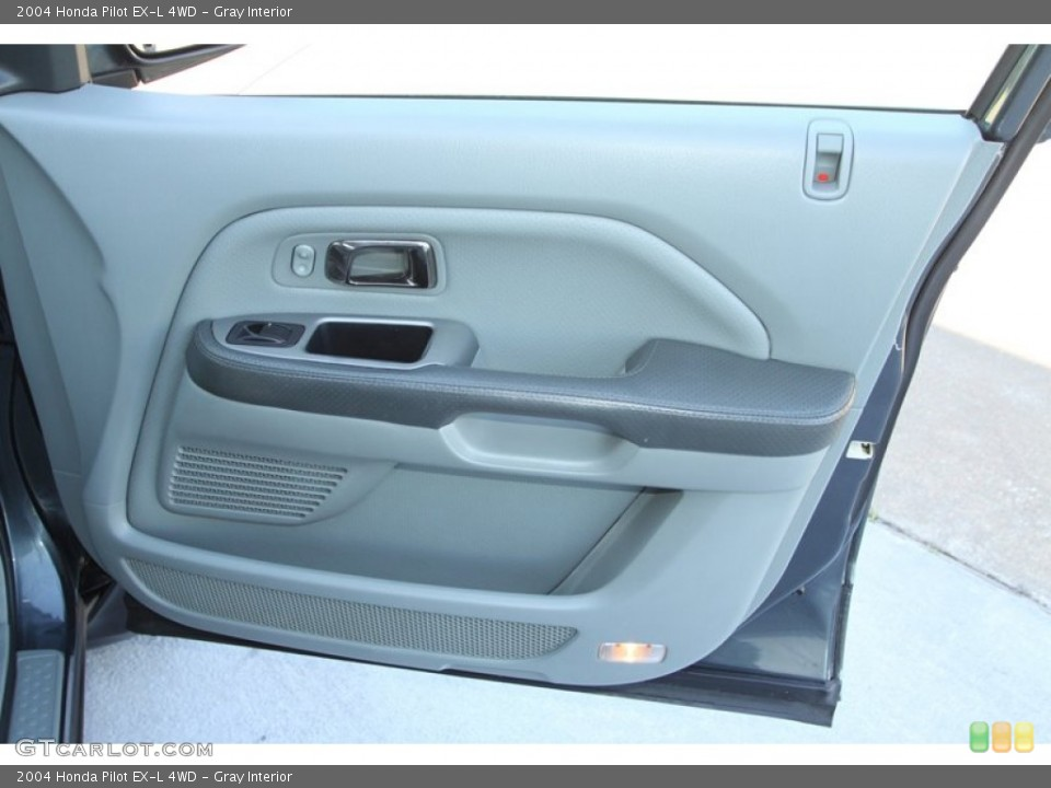 Gray Interior Door Panel for the 2004 Honda Pilot EX-L 4WD #78217792