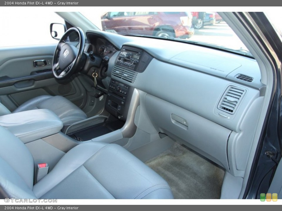 Gray Interior Dashboard for the 2004 Honda Pilot EX-L 4WD #78217810