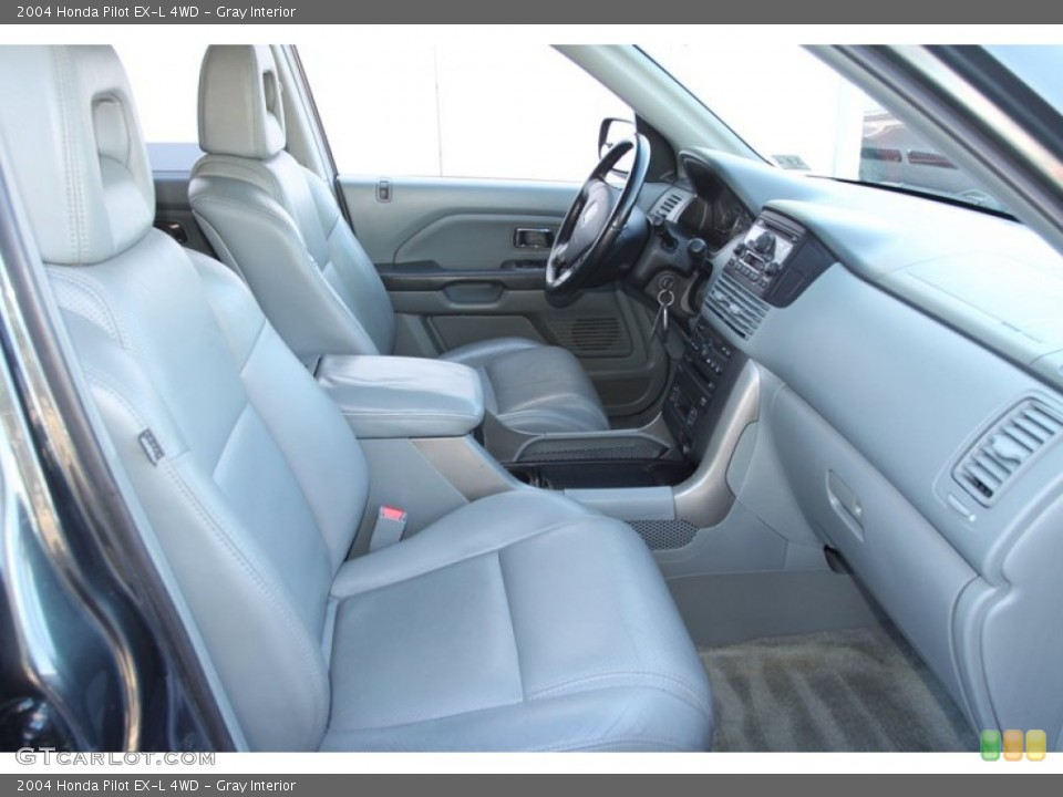 Gray Interior Front Seat for the 2004 Honda Pilot EX-L 4WD #78217839