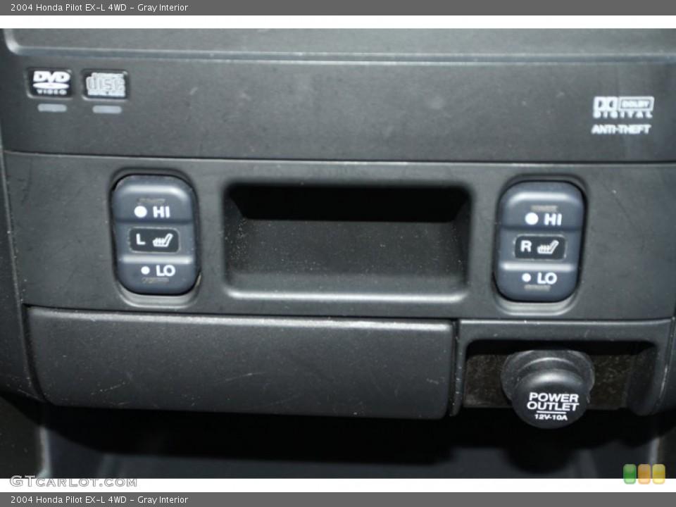 Gray Interior Controls for the 2004 Honda Pilot EX-L 4WD #78217906