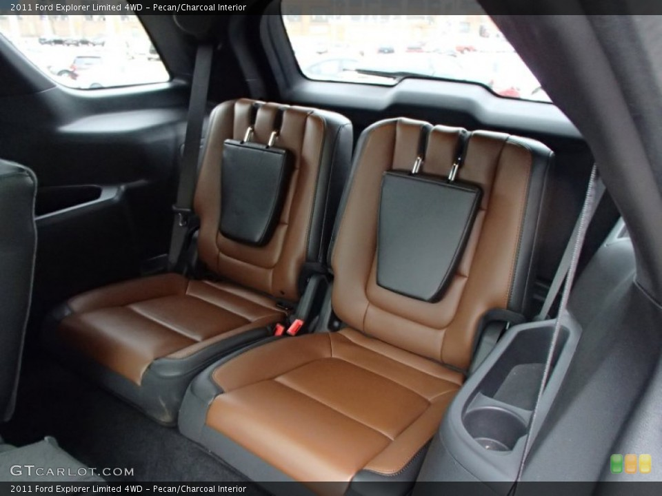 Pecan/Charcoal Interior Rear Seat for the 2011 Ford Explorer Limited 4WD #78241320
