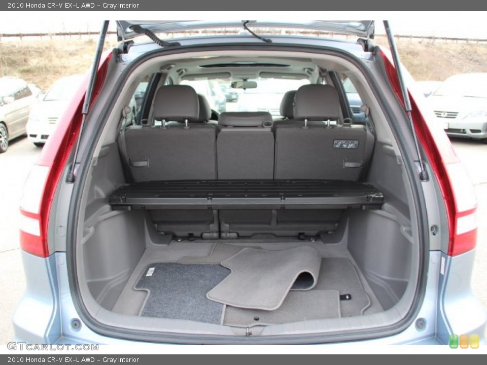 Gray Interior Trunk for the 2010 Honda CR-V EX-L AWD #78247198