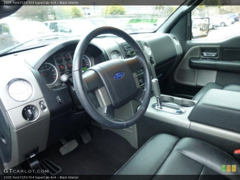 Black 2005 Ford F150 Interiors