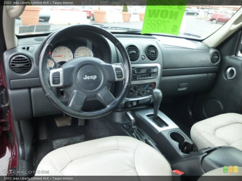 Taupe 2002 Jeep Liberty Interiors