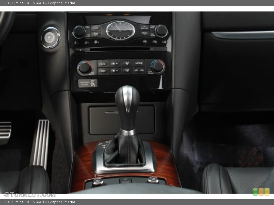 Graphite Interior Transmission for the 2012 Infiniti FX 35 AWD #78266995