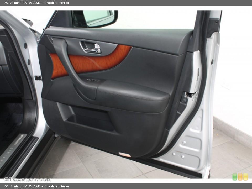 Graphite Interior Door Panel for the 2012 Infiniti FX 35 AWD #78267051