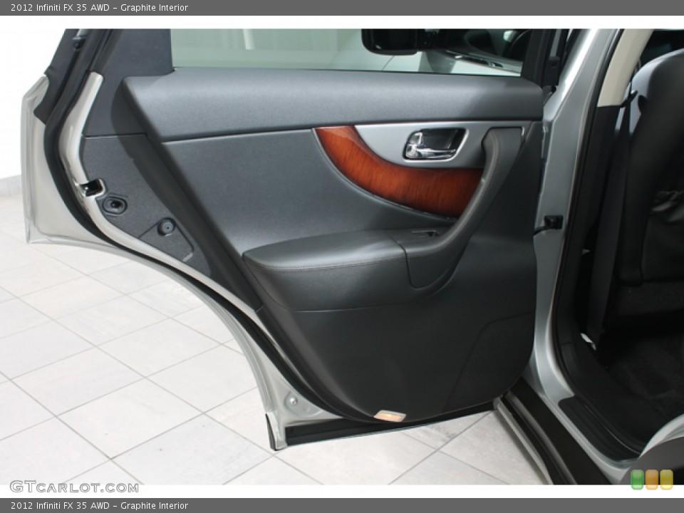 Graphite Interior Door Panel for the 2012 Infiniti FX 35 AWD #78267110