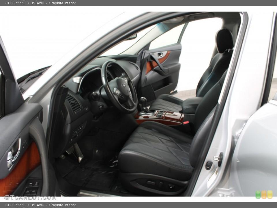 Graphite Interior Photo for the 2012 Infiniti FX 35 AWD #78267197