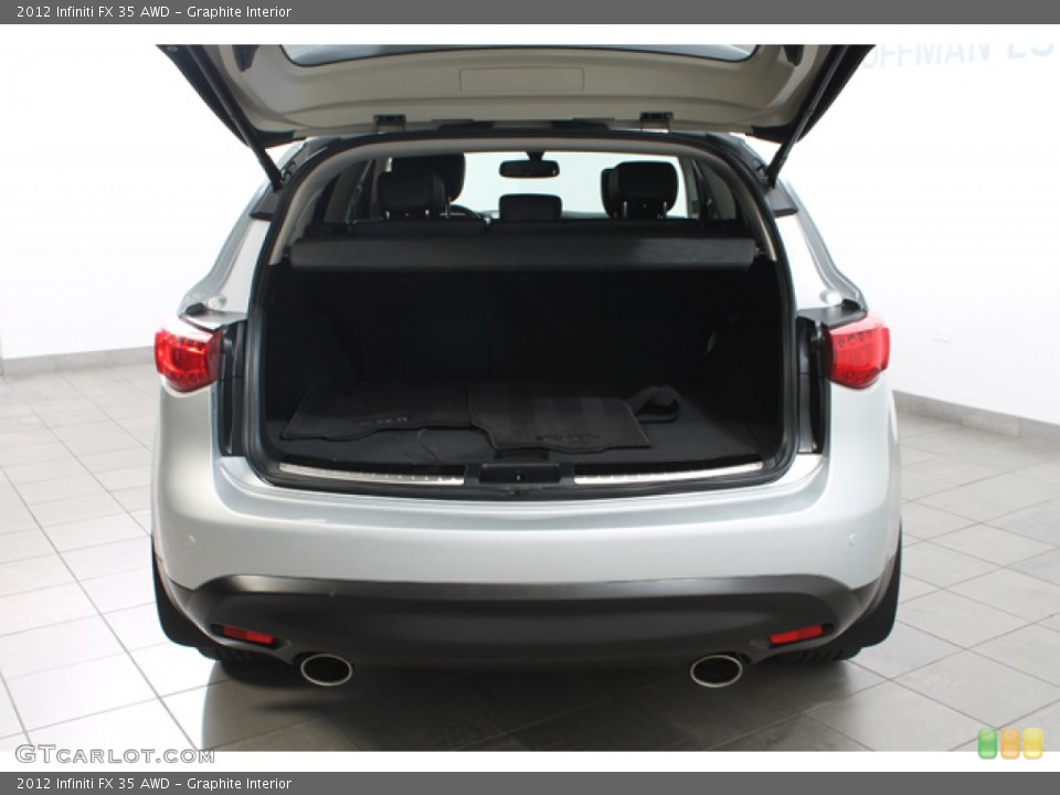 Graphite Interior Trunk for the 2012 Infiniti FX 35 AWD #78267363