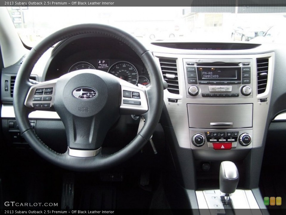Off Black Leather Interior Dashboard For The 2013 Subaru Outback 25