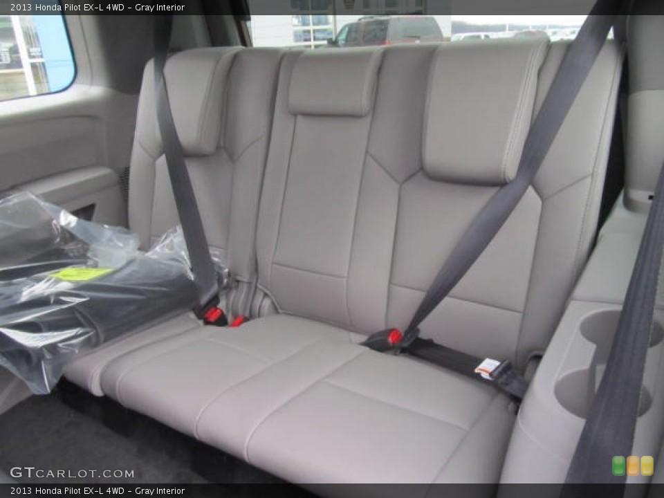 Gray Interior Rear Seat for the 2013 Honda Pilot EX-L 4WD #78294409