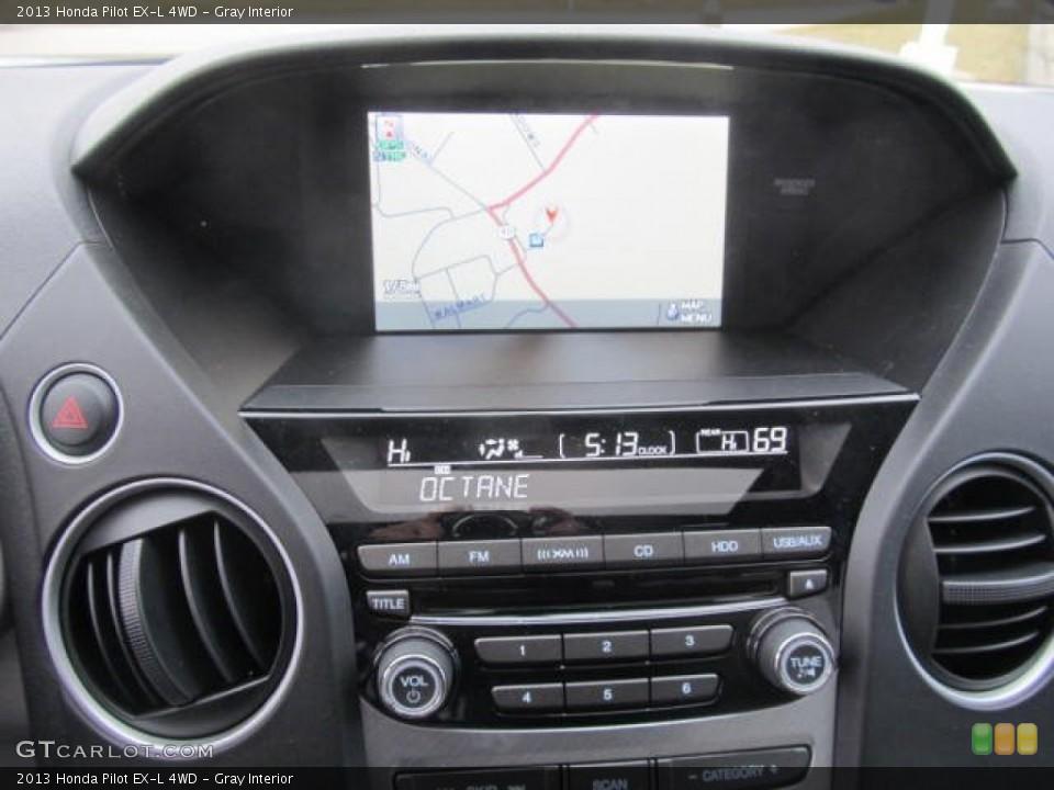 Gray Interior Navigation for the 2013 Honda Pilot EX-L 4WD #78294465