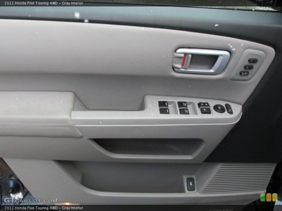 Gray Interior Door Panel for the 2011 Honda Pilot Touring 4WD #78332165