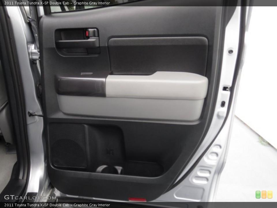 Graphite Gray Interior Door Panel for the 2011 Toyota Tundra X-SP Double Cab #78368400