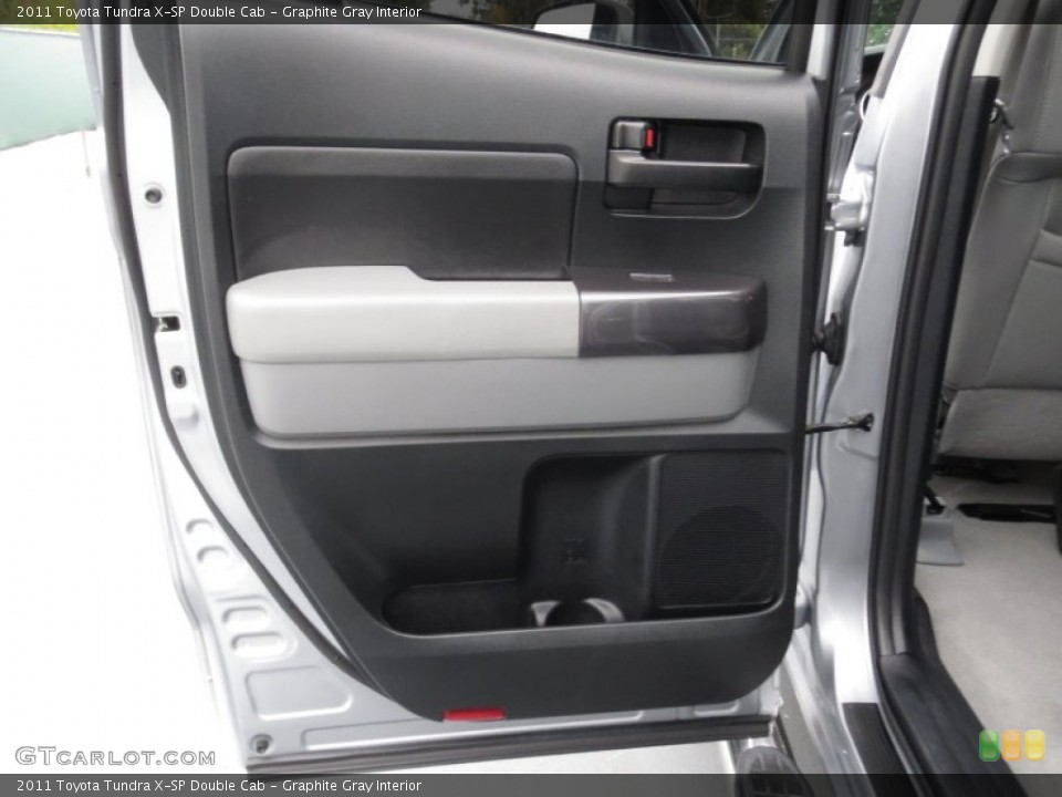 Graphite Gray Interior Door Panel for the 2011 Toyota Tundra X-SP Double Cab #78368442
