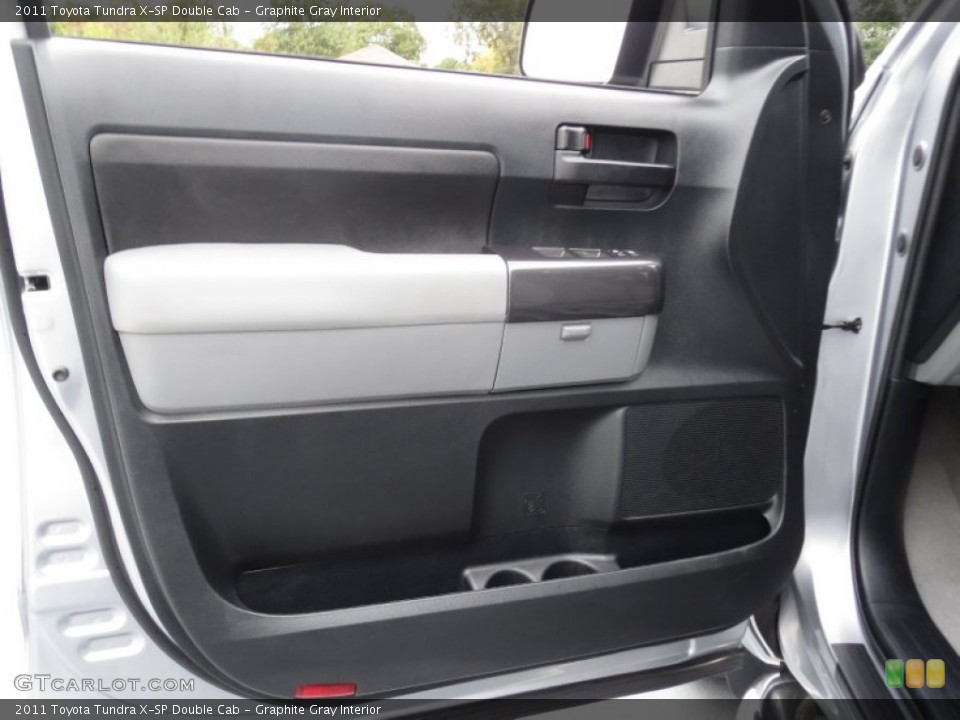 Graphite Gray Interior Door Panel for the 2011 Toyota Tundra X-SP Double Cab #78368469