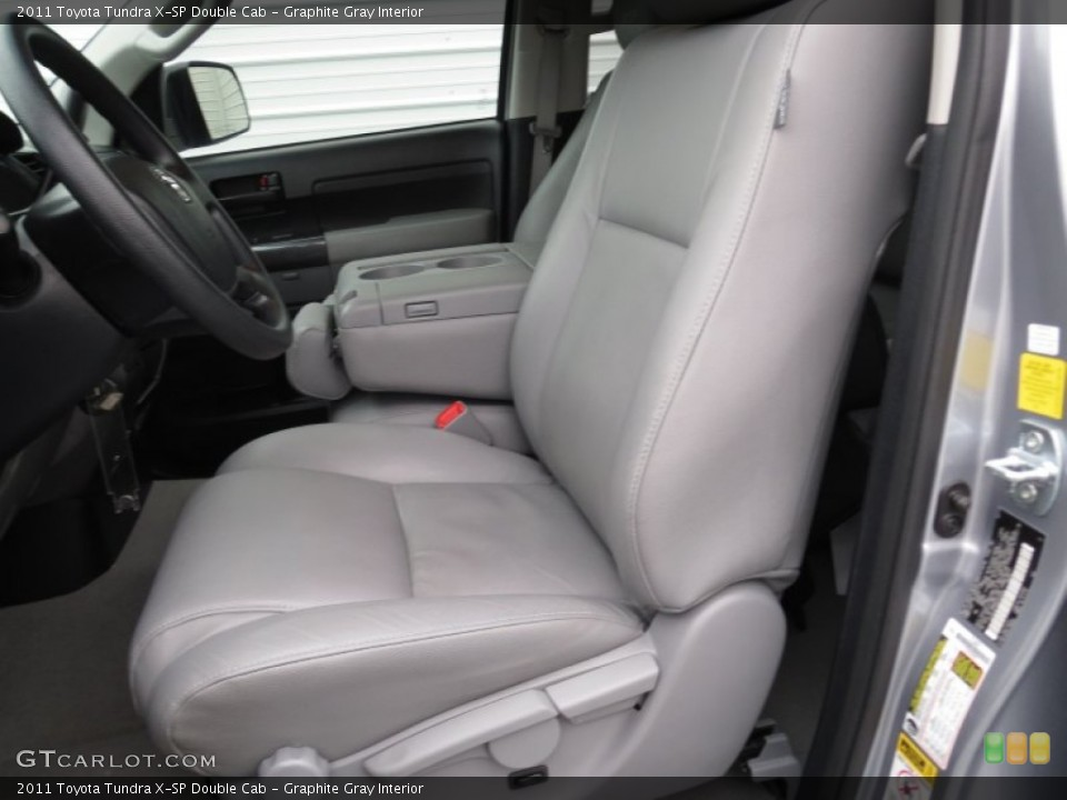 Graphite Gray Interior Front Seat for the 2011 Toyota Tundra X-SP Double Cab #78368478
