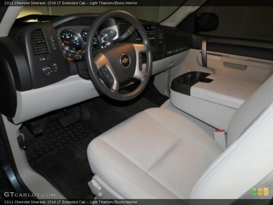 Light Titanium/Ebony 2011 Chevrolet Silverado 1500 Interiors