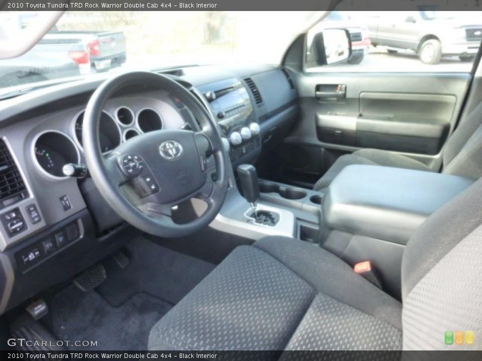 Black 2010 Toyota Tundra Interiors