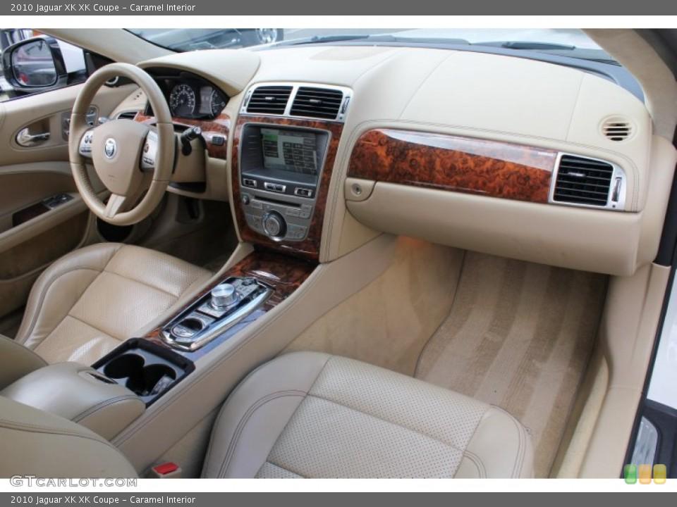 Caramel Interior Dashboard for the 2010 Jaguar XK XK Coupe #78441076