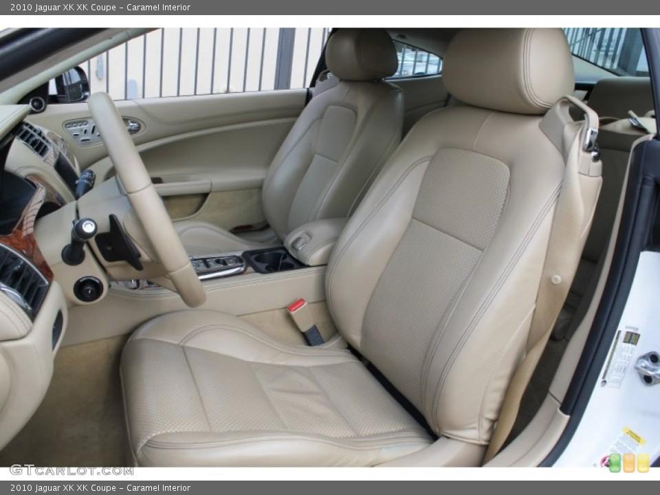 Caramel Interior Front Seat for the 2010 Jaguar XK XK Coupe #78441146
